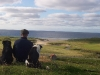 Crofter and his dogs